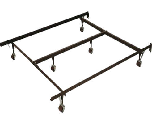 Base de lit en métal