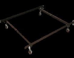 Cadre en métal pour matelas lit